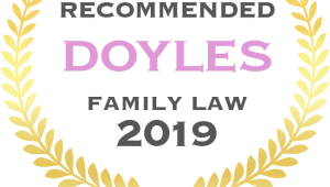 FAMILY LAW FIRM RECOGNISED FOR LEADERSHIP IN FAMILY LAW